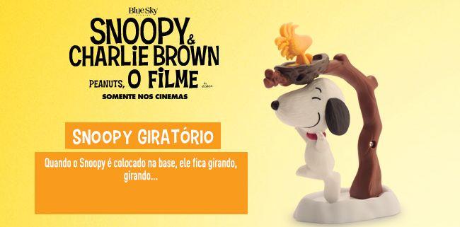 McDonalds mostra brinquedos do Snoopy e Charlie Brown do McLanche Feliz   Virgula