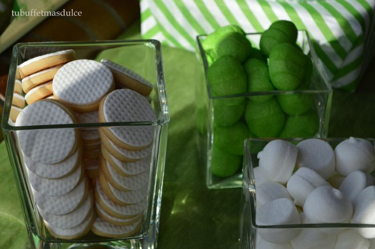 Verde y blanco??? Golf party!!!!