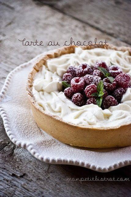 La tarte au chocolat ~ Pierre Hermé ~ Paris