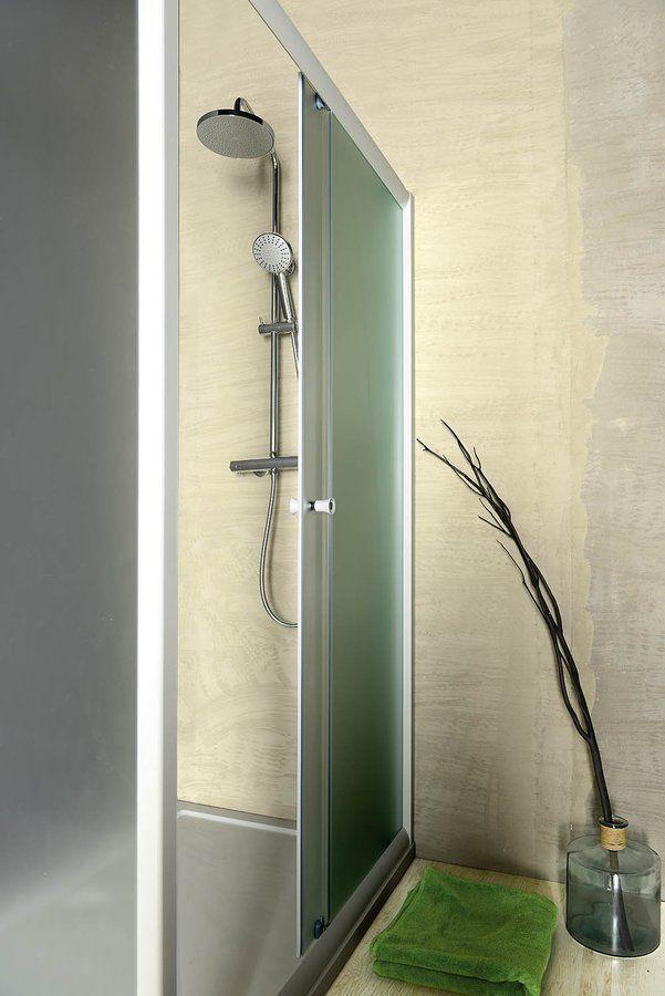 AMADEO posuvné sprchové dveře 1200 mm, sklo BRICK : SAPHO E-shop