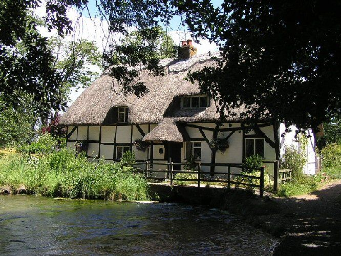 dated from 13th c., now a private house, Hampshire  http://www.alresford.org/info_pages/fulling%20mill.php