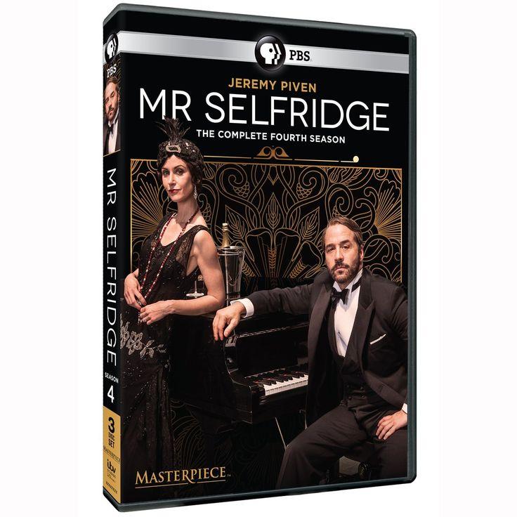 Mr. Selfridge Season 4 DVD Cover