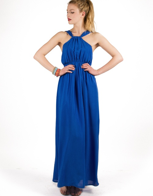 #maxidress with halter neck doublestrap and open back! #toimoifashion #fashion #fashionable #style #stylish #summer #ss13