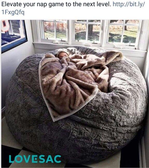 Sleeping oversized pillow