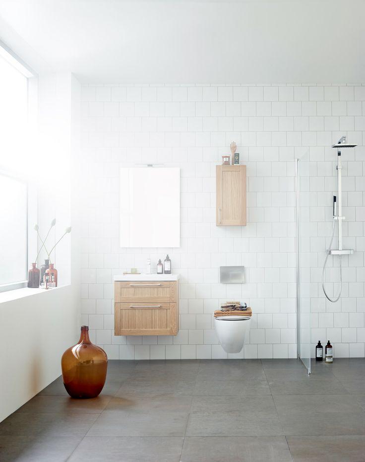 Aspen Badrum / Viskan / ek / oak / Scandinavian / Design / Bathroom Furniture