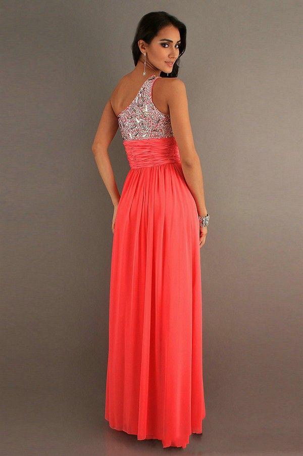 amsale-coral-bridesmaid-dresses | Wedding Nice | Pinterest ...