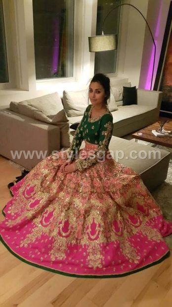 Latest Lehenga Choli Trends Designs 2017-18 Pakistani & Indian Fashion