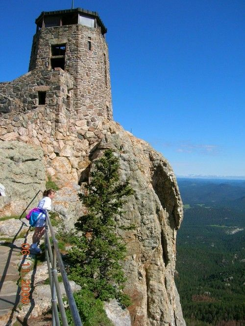 Harney Peak South Dakota vacation: Tower View