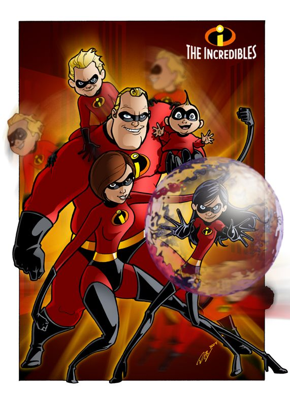 The Incredibles by AlexDeB.deviantart.com on @deviantART