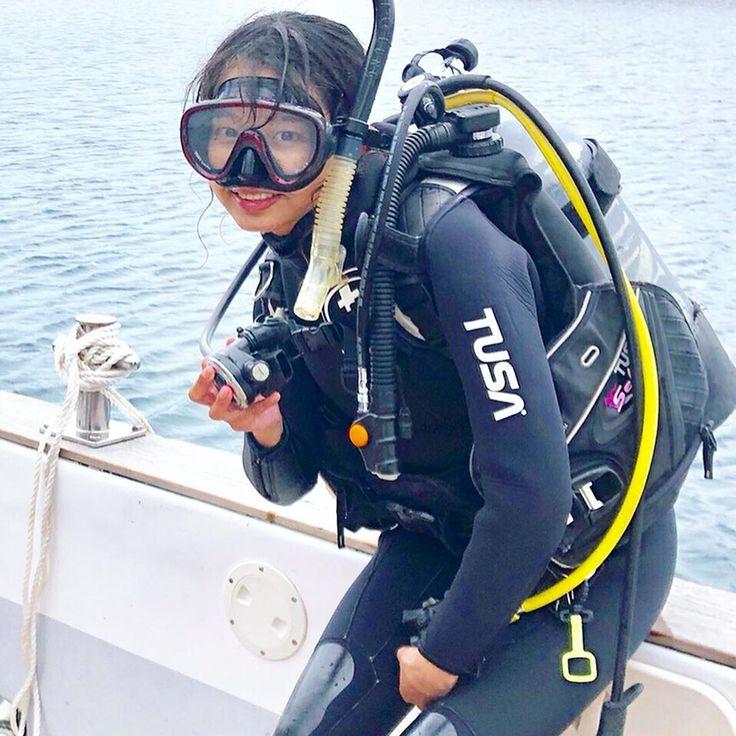 田上みずほ ほちこ さんはinstagramを利用しています ㅤㅤㅤ ㅤㅤㅤ いつも楽しませてくれる魚達に会いに初めて海に潜りました ㅤㅤㅤ ただただ感動した 楽しかった それに尽きます ㅤㅤㅤ 大好きな海の事を