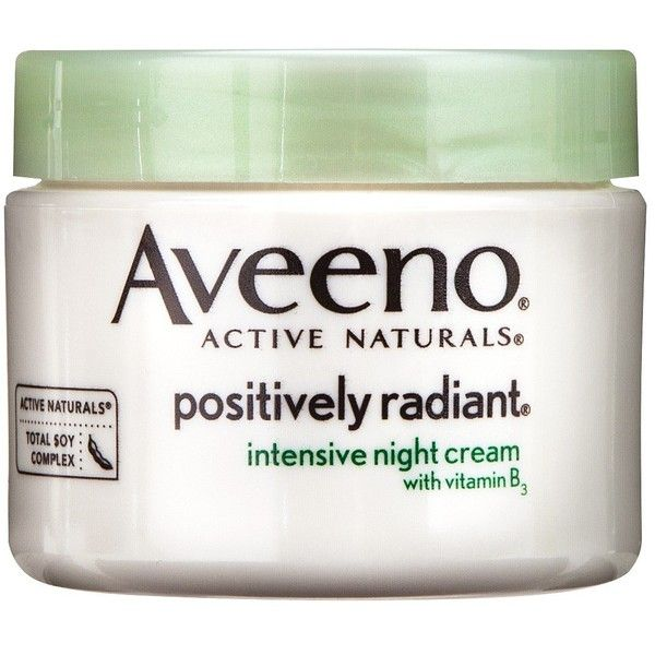 Aveeno Positively Radiant Intensive Night Cream ($15) ❤ liked on Polyvore featuring beauty products, skincare, face care, face moisturizers, facial moisturizers, skin care, aveeno, face moisturizer, aveeno face moisturizer and oil free face moisturizer