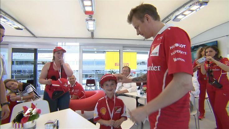 F1 Spagna: Raikkonen, l'uomo di ghiaccio dal cuore d'oro - Autosprint