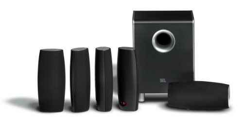 JBL CS6100BG HighPerformance Complete 6Piece Home Theater Speaker System with Brackets Black Gloss *** Be sure to check out this awesome product.