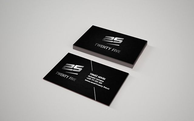 Business cards for 25 - Sportswear manufacturer!