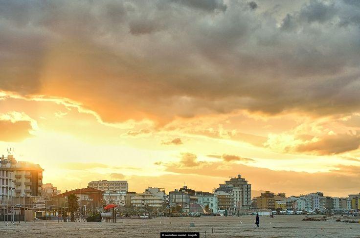 https://flic.kr/p/EkTp3X | cielo d'oro | golden sky on adriatic sea