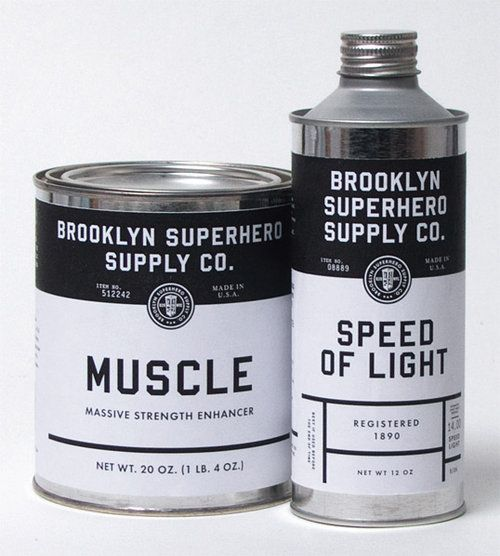 Brooklyn Superhero, Heroes, Superhero Supplies, Super Heros, Packaging Design, Brand, Energy Drinks, Bottle, Products