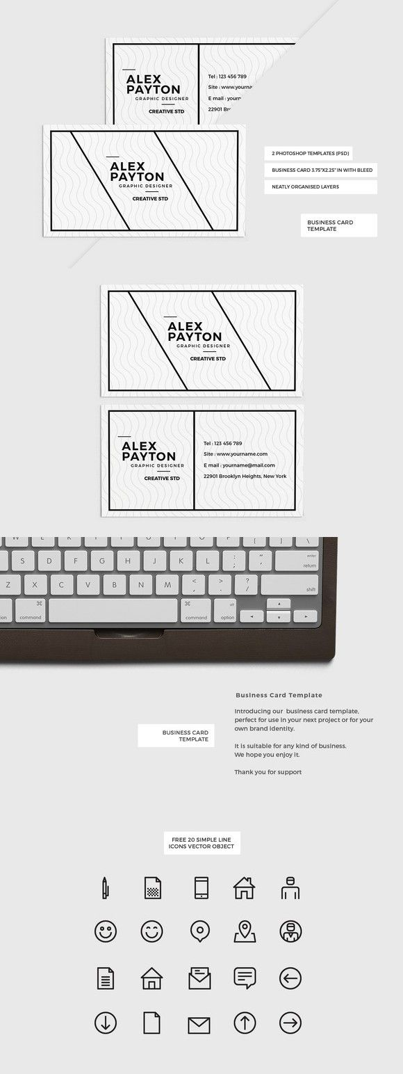 65 best cool business cards images on pinterest business card 65 best cool business cards images on pinterest business card design templates business card templates and visiting card templates alramifo Image collections