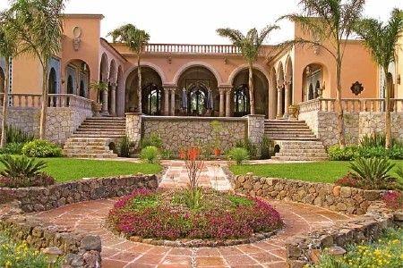 Morocco Mexican country side ...San Miguel de Allende