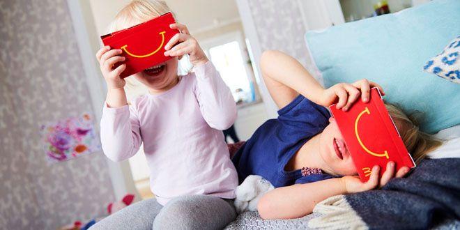 McDonald's está cambiando las Happy Meal en auriculares VR http://j.mp/1WUU5YL    #HappyMeal, #MCDonalds, #Noticias, #RealidadVirtual, #Sobresalientes, #Tecnología, #VR