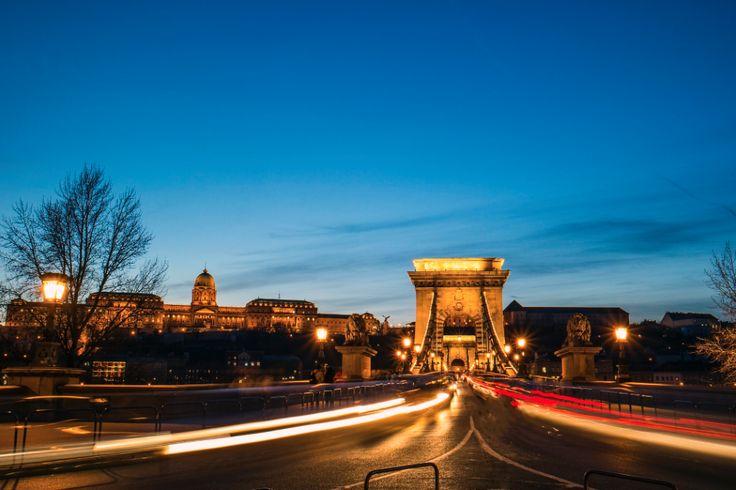 Blue hour at the Chainbridge :: Budapest :: photo by Riccsi (Richárd Sárközi)