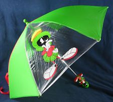 Warner Bros Marvin the Martian Umbrella Looney Tunes Collectible Childrens Kids
