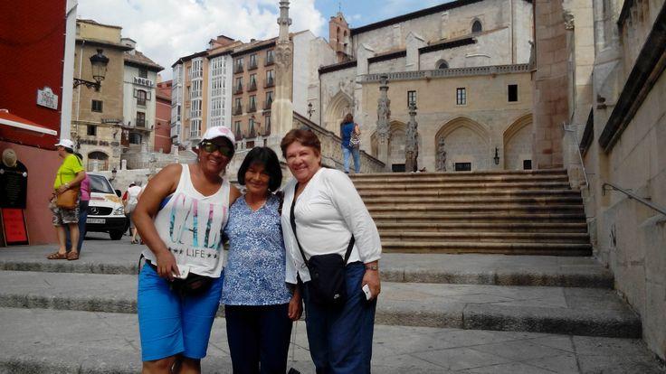 Excursión Europa 2015 Central de Reservas y Turismo el compañerismo fue primordial en la visita a Burdeos