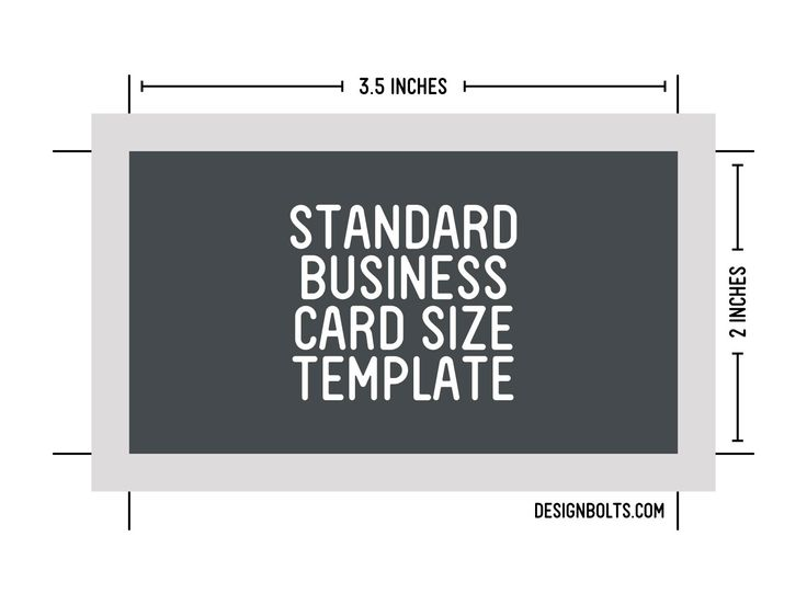 The 25+ best ideas about Standard Business Card Size on Pinterest ...