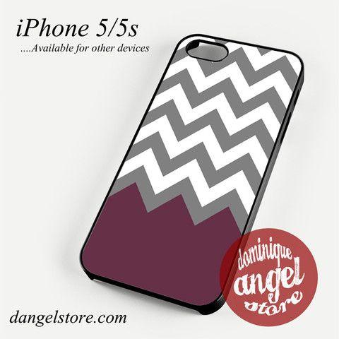Grey White grape Chevron Phone case for iPhone 4/4s/5/5c/5s/6/6 plus