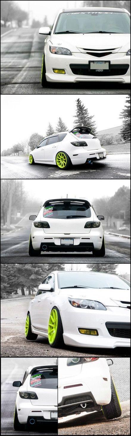 MAZDA car review 2015 Mazda 3. Love the color combo    http://pinterest.com/treypeezy http://twitter.com/TreyPeezy http://instagram.com/treypeezydot http://OceanviewBLVD.com by http://reviewcars2015.com