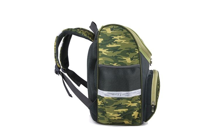 2016 Wholesale Boys Hi-Tec Camouflage School Backpack Army Green and Grey - china School Backpack manufacturer - QUANZHOU HASLOR BAGS CO.,LTD