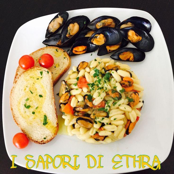 Cavatelli+e+cozze+tarantine+ricetta+perfetta+-+I+Sapori+di+Ethra