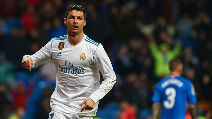 Ronaldo nets brace as Real top Getafe, boost confidence ahead of PSG clash