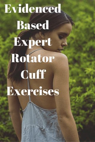 Evidenced Based Expert Rotator Cuff Exercises #exercise #shoulder #health