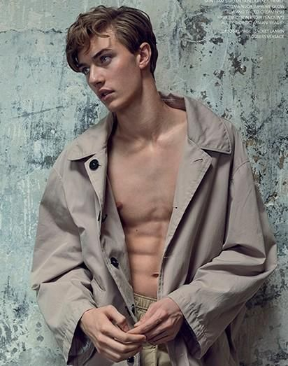 Lucky Blue | Narcisse Magazine #06 Issue | Photographed by Marcin Tyszka ❤