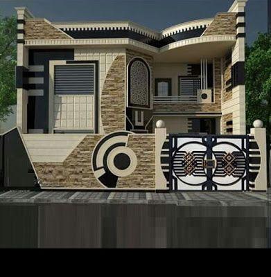 modern house front design ideas exterior wall decoration ...