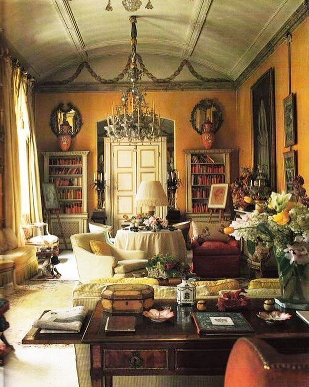 302 Likes 21 Comments Stuffy Muffy Stuffy Muffy On Instagram Drawing Room Delight Colef English Country House Style Yellow Room English Country Decor