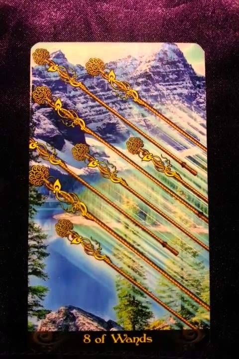 The coming week's reminder is brought to us by the Eight of Wands When we are functioning optimally, the energies it represents for us would be patience, gre...