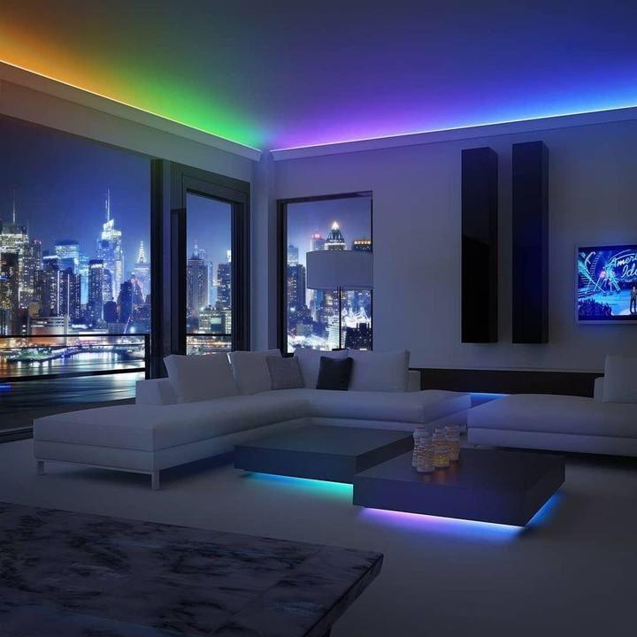 7 Creative Home Lighting Ideas For Led Strip Lights In 2020 House Design Led Rope Lights Room Lights