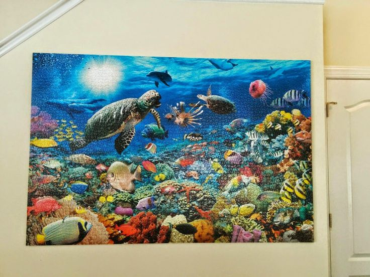 How To Mount And Hang A Large Jigsaw Puzzle Without Glue