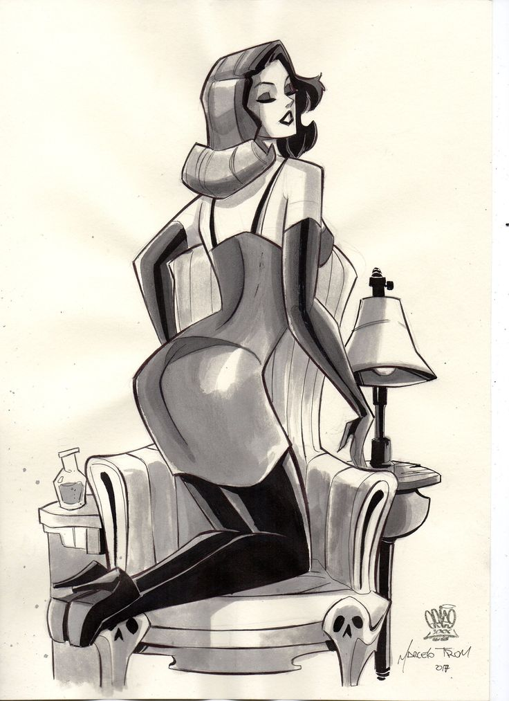 Pin up one by MarceloTrom on Etsy
