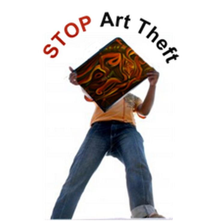 Online Art Theft – What to do About it