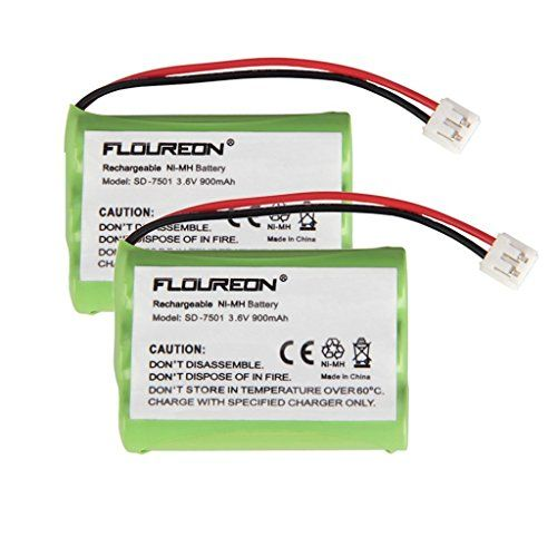 Best price on 2 Packs Floureon Rechargeable Cordless Phone Battery for V-Tech 89-1323-00-00 Model 27910 Cordless Telephone Battery Replacement Pack  See details here: http://topofficeshop.com/product/2-packs-floureon-rechargeable-cordless-phone-battery-for-v-tech-89-1323-00-00-model-27910-cordless-telephone-battery-replacement-pack/    Truly the best deal for the new 2 Packs Floureon Rechargeable Cordless Phone Battery for V-Tech 89-1323-00-00 Model 27910 Cordless Telephone Battery…