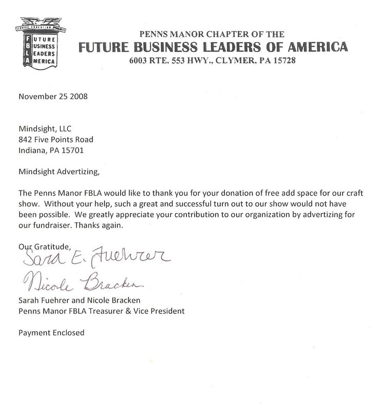 Thank You Business Letters Cover Letter FormatBusiness Letters - business thank you letter