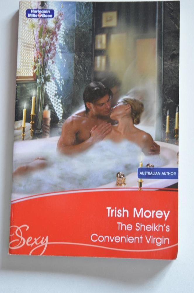 sexy, mills & boon p/back the  sheikhs convenient virgin. by trish morey.2008