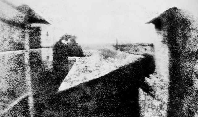 Before There Was Instagram, There Was Niépce: World's Oldest Photo Goes on View in Germany: Photographers, Joseph Nicéphor, Window, Le Gras, Nicéphor Niépc, 1826, View, Photography, The World