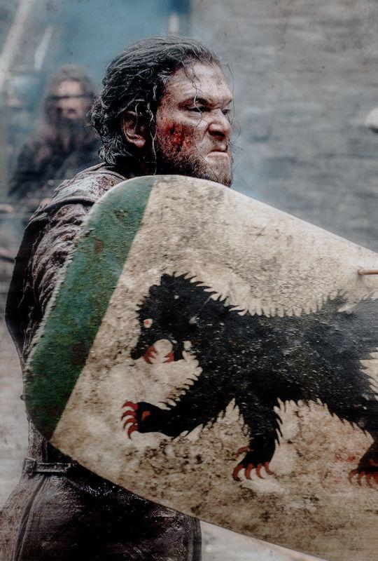 "stormbornvalkyrie: ""   ♕ Jon in Game of Thrones 6.09 ""Battle of the Bastards"" """