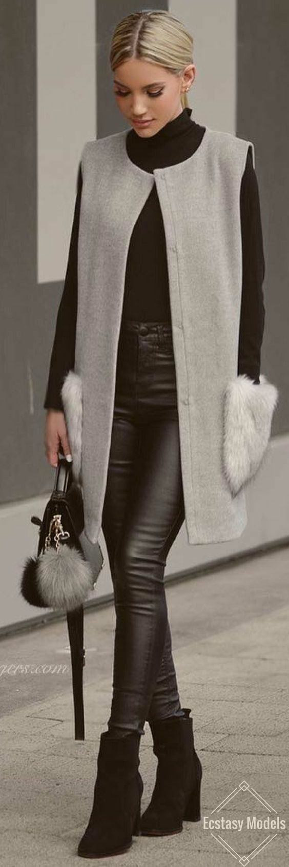 Amazing fall outfit - wear your clothes with style - Miladies.net