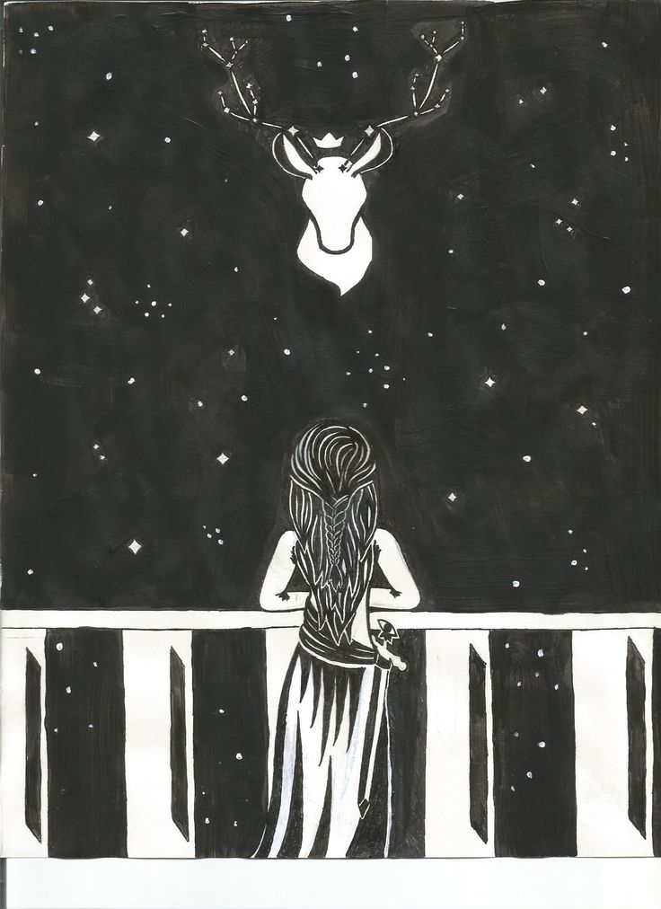 """""""- Aquela é o cervo - sussurrou a jovem. - O Senhor do Norte."""" - A Lâmina da Assassina"""