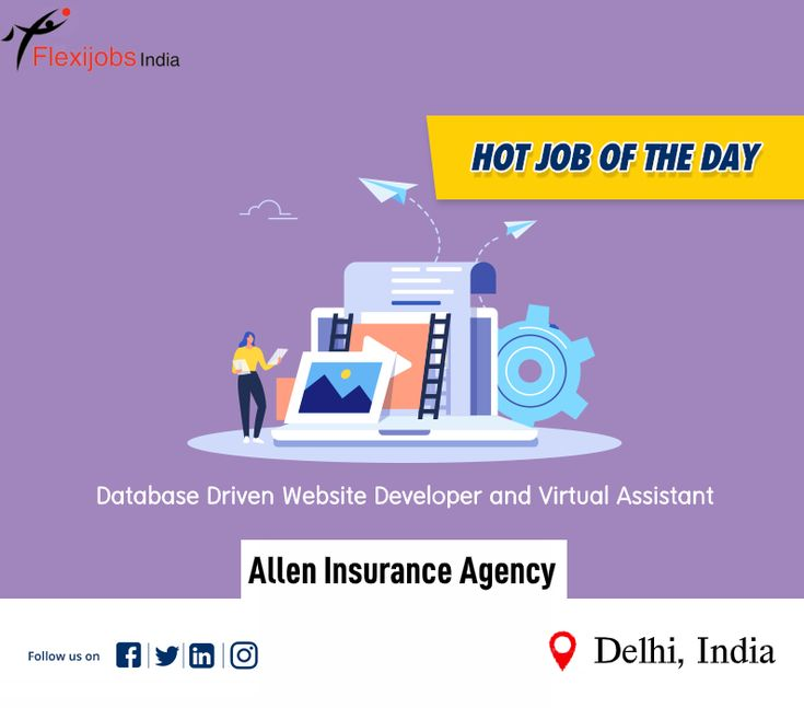 Hot Jobs Of The Day 𝐀𝐥𝐥𝐞𝐧 𝐈𝐧𝐬𝐮𝐫𝐚𝐧𝐜𝐞 𝐀𝐠𝐞𝐧𝐜𝐲