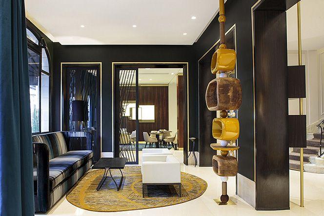 Отель Montalembert: парижский декор от Паскаля Алламана